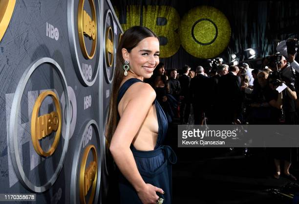 Emilia Clarke attends HBO's Post Emmy Awards Reception on September 22 2019 in Los Angeles California