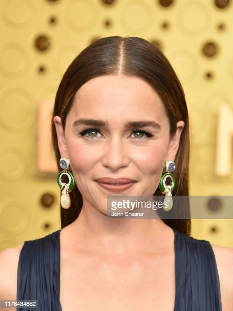Emilia Clarke attends the 71st Emmy Awards at Microsoft Theater on September 22, 2019 in Los Angeles, California.