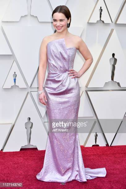Emilia Clarke attends the 91st Annual Academy Awards at Hollywood and Highland on February 24 2019 in Hollywood California
