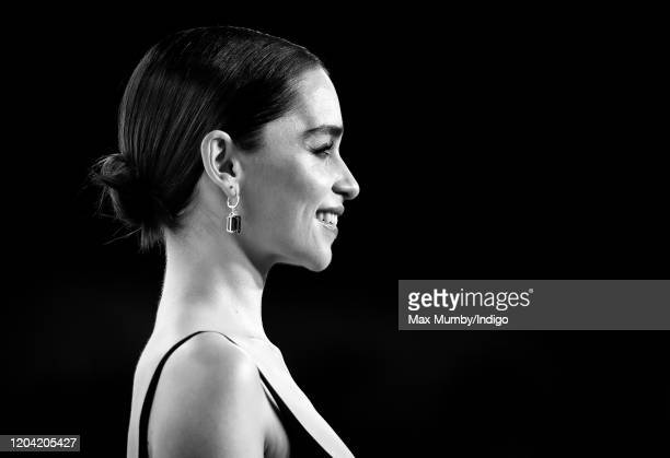 Emilia Clarke attends the EE British Academy Film Awards 2020 at the Royal Albert Hall on February 2 2020 in London England