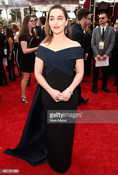 Emilia Clarke attends TNT's 21st Annual Screen Actors Guild Awards at The Shrine Auditorium on January 25 2015 in Los Angeles California 25184_016