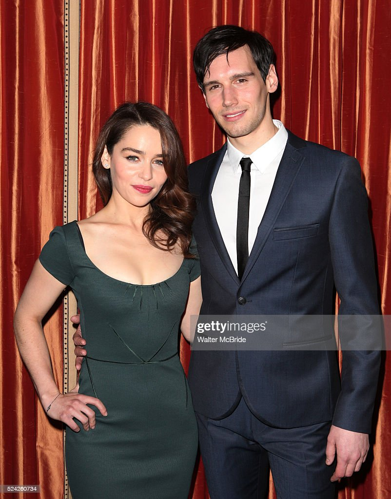 Usa breakfast at tiffanys meet greet pictures getty images emilia clarke cory michael smith attending the meet greet the company of breakfast m4hsunfo