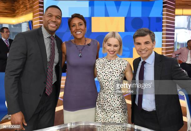 AMERICA Emilia Clarke is a guest on 'Good Morning America' Wednesday May 23 airing on the ABC Television Network MICHAEL