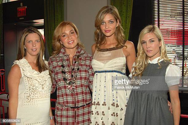 Emilia Fanjul Pfeifler Fabiola Beracasa Ana Beatriz Barros and Tinsley Mortimer attend VICTORIA'S SECRET Luncheon to Introduce INTIMISSIMI Hosted by...