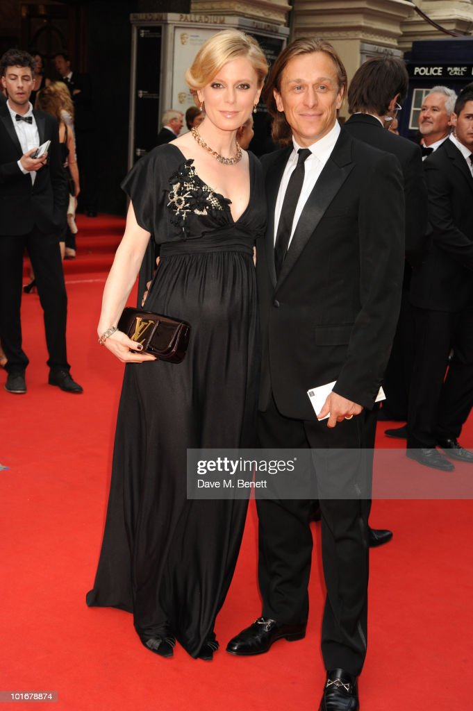 Emilia Fox and Jeremy Gilley arrive at the Philips British Academy Television Awards at the London Palladium on June 6, 2010 in London, England.