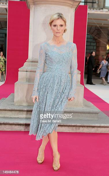 Emilia Fox arrives at the Royal Academy of Arts Summer Exhibition Preview Party at Royal Academy of Arts on May 30 2012 in London England