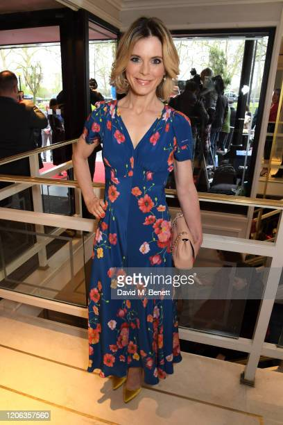 Emilia Fox arrives at the TRIC Awards 2020 at The Grosvenor House Hotel on March 10, 2020 in London, England.
