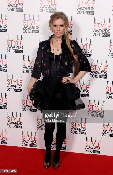 Emilia Fox arrives for the ELLE Style Awards 2010 at the Grand Connaught Rooms on February 22 2010 in London England