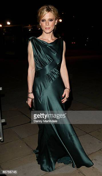 Emilia Fox attends a dinner in honour of Frida Giannini Gucci's Creative Director hosted by Alexandra Shulman Editor of British Vogue at Saatchi...