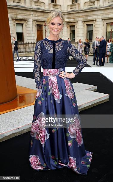 Emilia Fox attends a VIP preview of the Royal Academy of Arts Summer Exhibition 2016 on June 7 2016 in London England