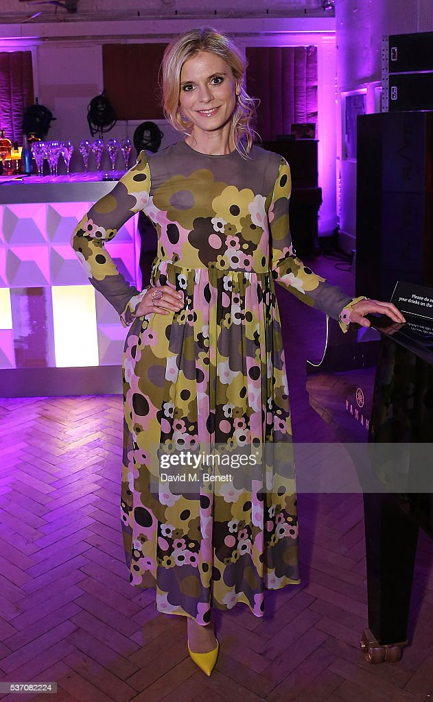 Emilia Fox attends End of Silence charity event at Abbey Road Studios, in aid of Hope and Homes for children on June 1, 2016 in London, England.