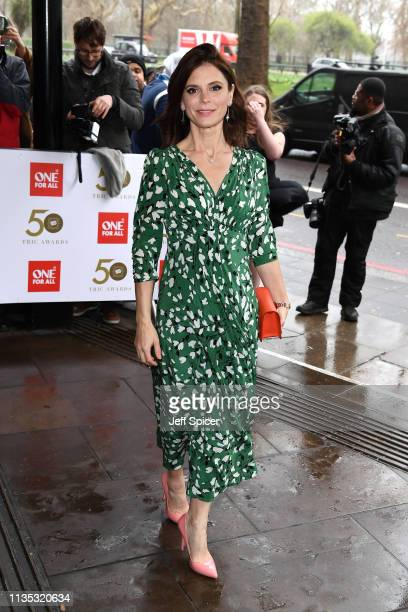 Emilia Fox attends the 2019 'TRIC Awards' held at The Grosvenor House Hotel on March 12 2019 in London England