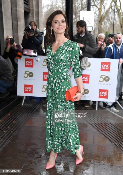 Emilia Fox attends the 2019 'TRIC Awards' held at The Grosvenor House Hotel on March 12, 2019 in London, England.