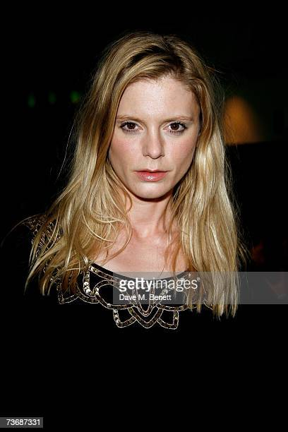 Emilia Fox attends the a fundraiser party for the Almeida Theatre at the Almeida Theatre on March 23 2007 in London England