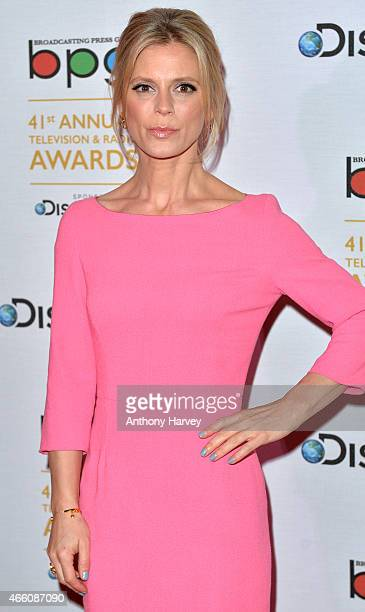 Emilia Fox attends the Broadcasting Press Guild awards at Theatre Royal on March 13 2015 in London England