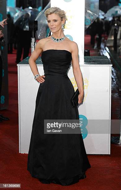Emilia Fox attends the EE British Academy Film Awards at The Royal Opera House on February 10 2013 in London England