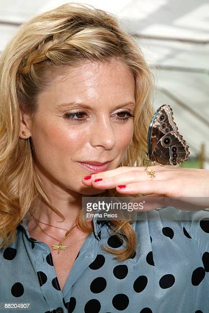 Emilia Fox attends the opening of 'Future Gardens' at Butterfly World on June 4 2009 in St Albans England