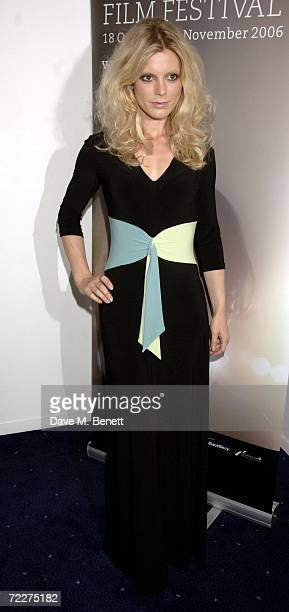 """Emilia Fox attends the premiere of the movie """"Bobby"""" held at the Odeon West End on October 26, 2006 in London, England."""