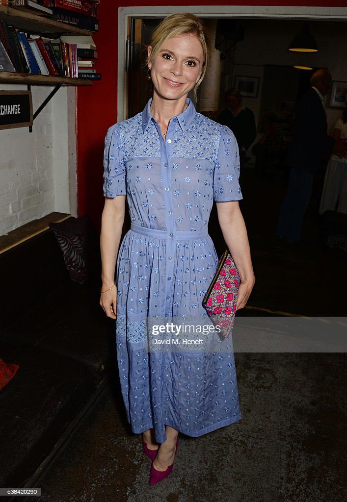 Emilia Fox attends the press night after party for 'A Midsummer Night's Dream' at Southwark Playhouse on June 6, 2016 in London, England.