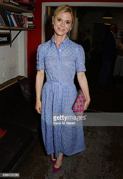 Emilia Fox attends the press night after party for A Midsummer Night's Dream at Southwark Playhouse on June 6 2016 in London England