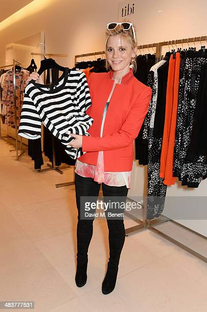 Emilia Fox attends the Shop with the Stars a public shopping evening to celebrate The Olivier Awards with MasterCard to raise funds awareness of the...