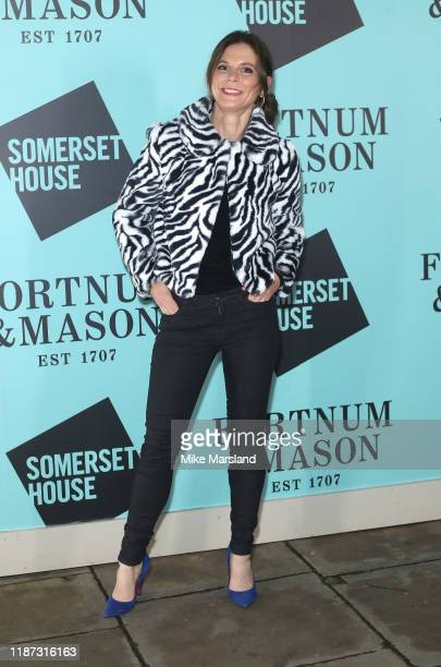 Emilia Fox attends the Skate At Somerset House With Fortnum Mason VIP launch party on November 12 2019 in London England