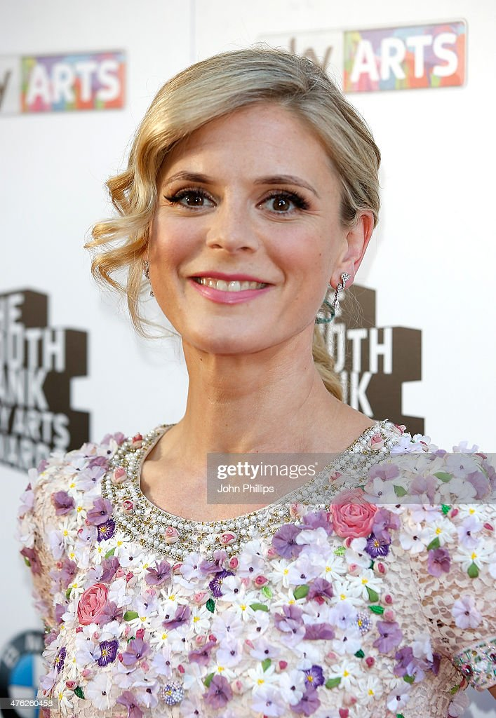 Emilia Fox attends the South Bank Sky Arts Awards at The Savoy Hotel on June 7, 2015 in London, England.