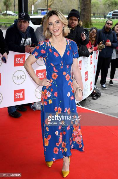 Emilia Fox attends the TRIC Awards 2020 at The Grosvenor House Hotel on March 10, 2020 in London, England.