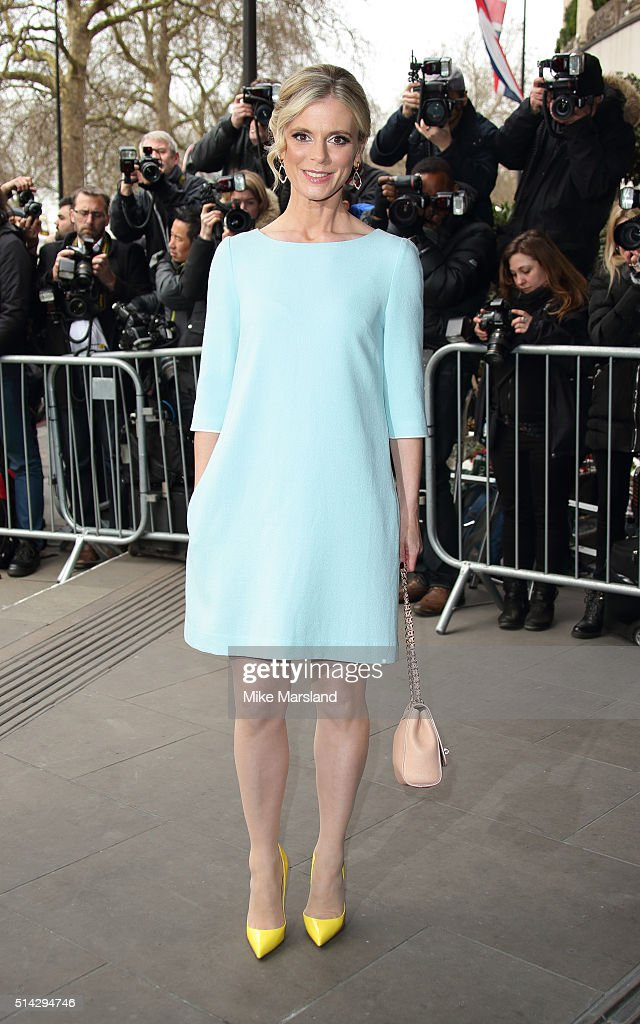 Emilia Fox attends the TRIC Awards at Grosvenor House Hotel at The Grosvenor House Hotel on March 8, 2016 in London, England.
