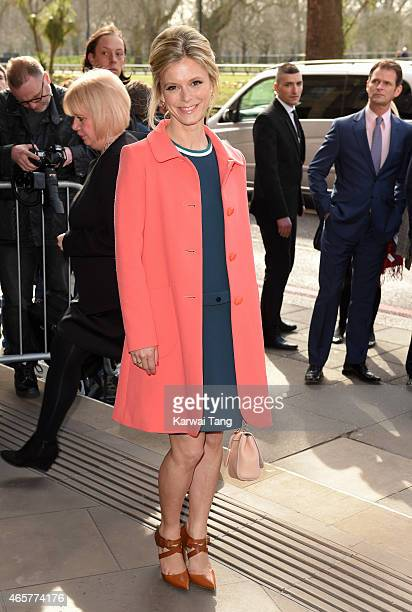 Emilia Fox attends the TRIC Awards at Grosvenor House Hotel on March 10 2015 in London England