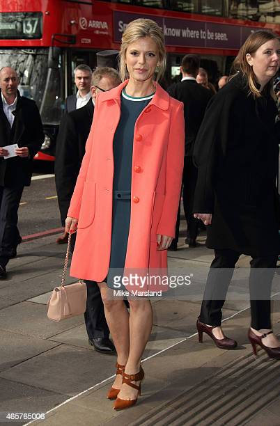 Emilia Fox attends the TRIC Awards on March 10 2015 in London England