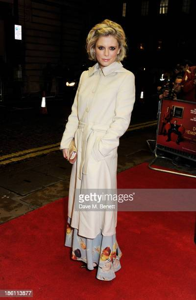"""Emilia Fox attends the UK Premiere of """"Dom Hemingway"""" at The Curzon Mayfair on October 28, 2013 in London, England."""