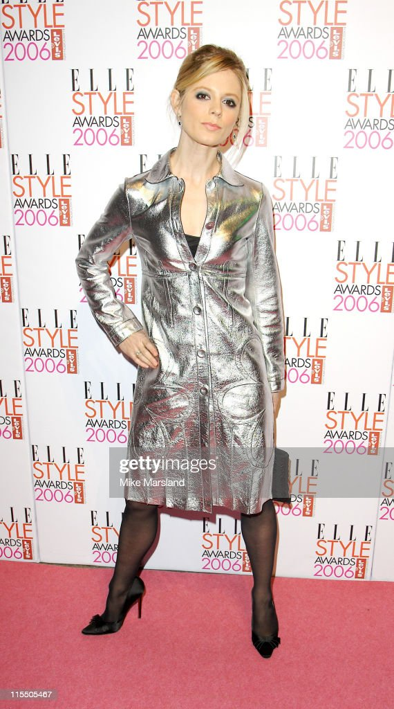 Emilia Fox during Elle Style Awards 2006 - Inside Arrivals at Old Truman Brewery in London, Great Britain.