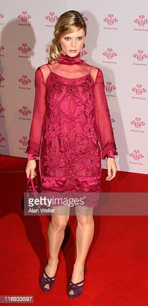 Emilia Fox during The Prince's Trust Gala Dinner at The Roundhouse in London Great Britain