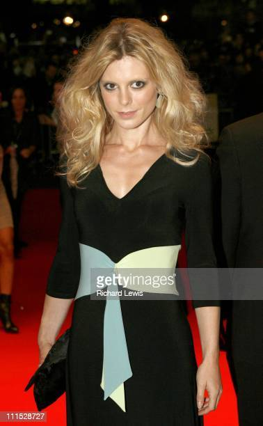 Emilia Fox during The Times BFI 50th London Film Festival UK Premiere of Bobby Inside Arrivals at Odeon West End in London Great Britain