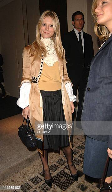 Emilia Fox during Vogue List Party November 8 2005 at Nobu Berkely Square in London Great Britain