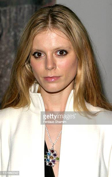 Emilia Fox during Waage Jewellery ltd Launch Party at Embassy Of Iceland in London Great Britain