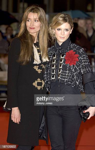 Emilia Fox Natascha Mcelhone Attend The Becoming Jane World Premiere In London