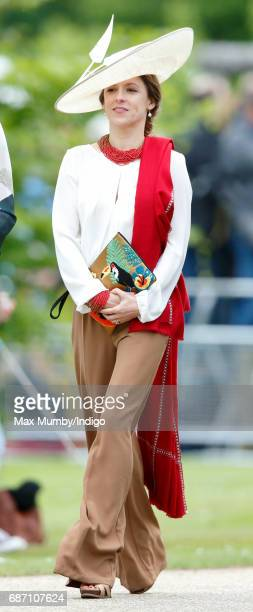 Emilia Jardine-Paterson attends the wedding of Pippa Middleton and James Matthews at St Mark's Church on May 20, 2017 in Englefield Green, England.