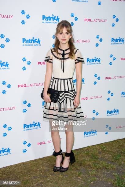 Emilia Jones attends the UK premeire of 'Patrick' at an exclusive private London garden on June 27 2018 in London England
