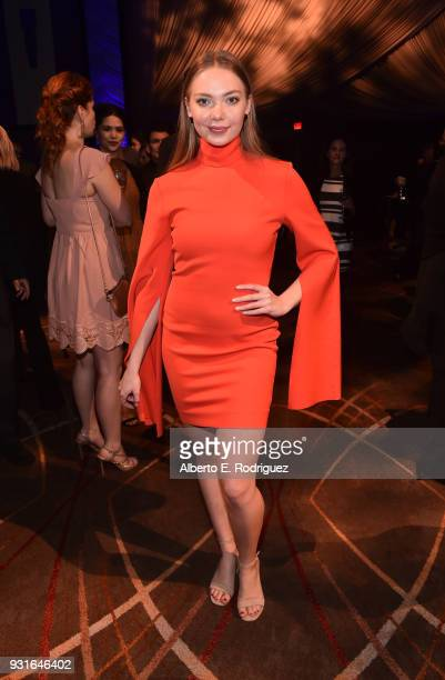 Emilia McCarthy attends A Legacy Of Changing Lives presented by the Fulfillment Fund at The Ray Dolby Ballroom at Hollywood Highland Center on March...