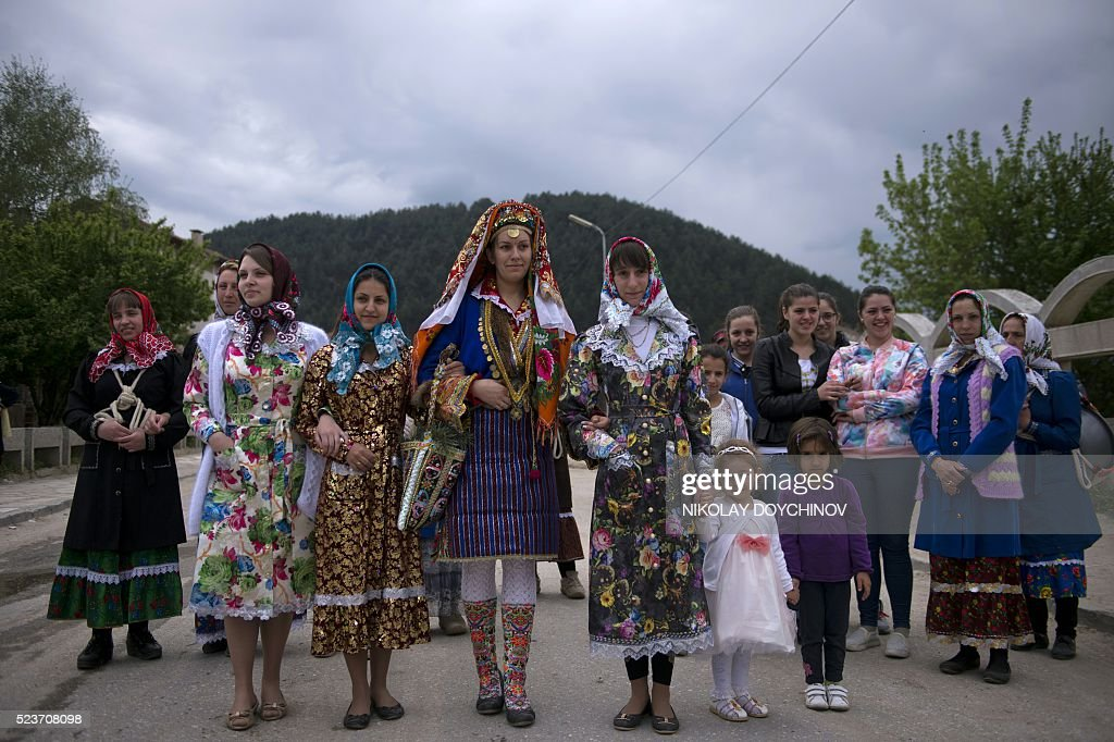 BULGARIA-RELIGION-MINORITY-MUSLIMS-WEDDING : Fotografia de notícias
