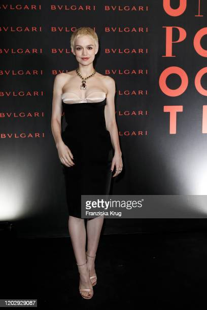 Emilia Schuele at the Unapologetic Night by BVLGARI x Constantin Film at BVLGARI CLVB on February 23 2020 in Berlin Germany