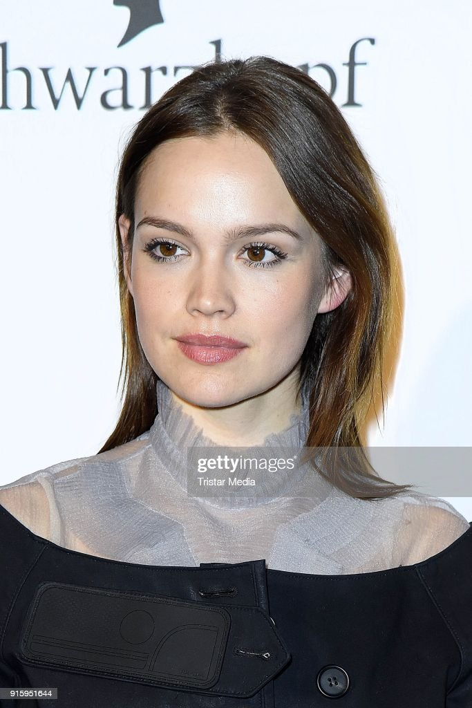 Emilia Schuele attends the 120th anniversary celebration of Schwarzkopf at U3 subway tunnel Potsdamer Platz on February 8, 2018 in Berlin, Germany.
