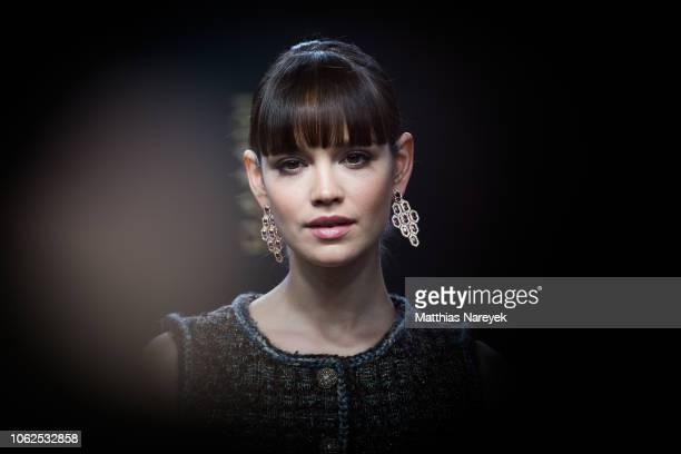 Emilia Schuele attends the 70th Bambi Awards at Stage Theater on November 16, 2018 in Berlin, Germany.