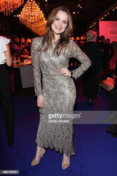 Emilia Schuele attends the after show party of Goldene Kamera 2014 Hangar 7 at Tempelhof Airport on February 1 2014 in Berlin Germany