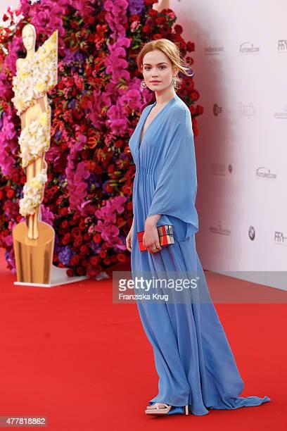 Emilia Schuele attends the German Film Award 2015 Lola at Messe Berlin on June 19 2015 in Berlin Germany