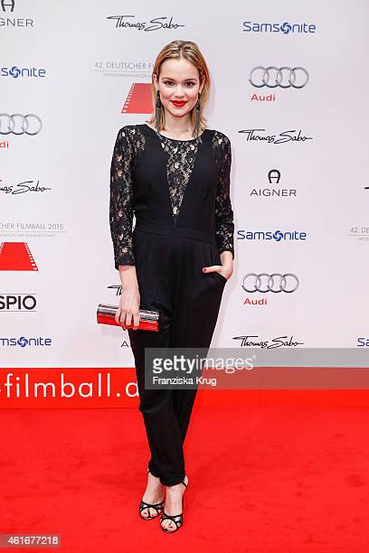 Emilia Schuele attends the German Film Ball 2015 on January 17 2015 in Munich Germany