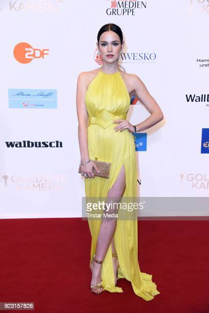 Emilia Schuele attends the Goldene Kamera on February 22 2018 in Hamburg Germany