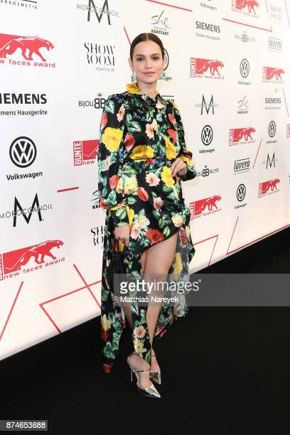Emilia Schuele attends the New Faces Award Style 2017 at The Grand on November 15, 2017 in Berlin, Germany.